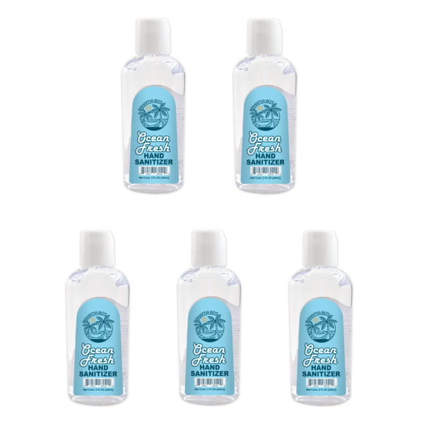 Hand Sanitizer 2oz 5-Pack from BahamaBos.com
