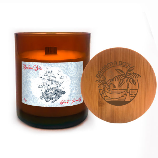 Apothecary Candle Soy Wax, Just Peachy by BahamaBos.com